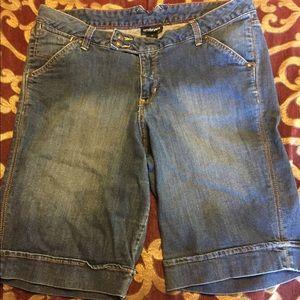 Lane Bryant Size 16 Knee Length Long Shorts
